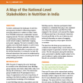 Nutrition Stakeholders in India: Insights from a Network and Influence Mapping Exercise