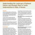 Understanding the Landscape of National Policies and Strategic Plans to Tackle Undernutrition in India: A Review