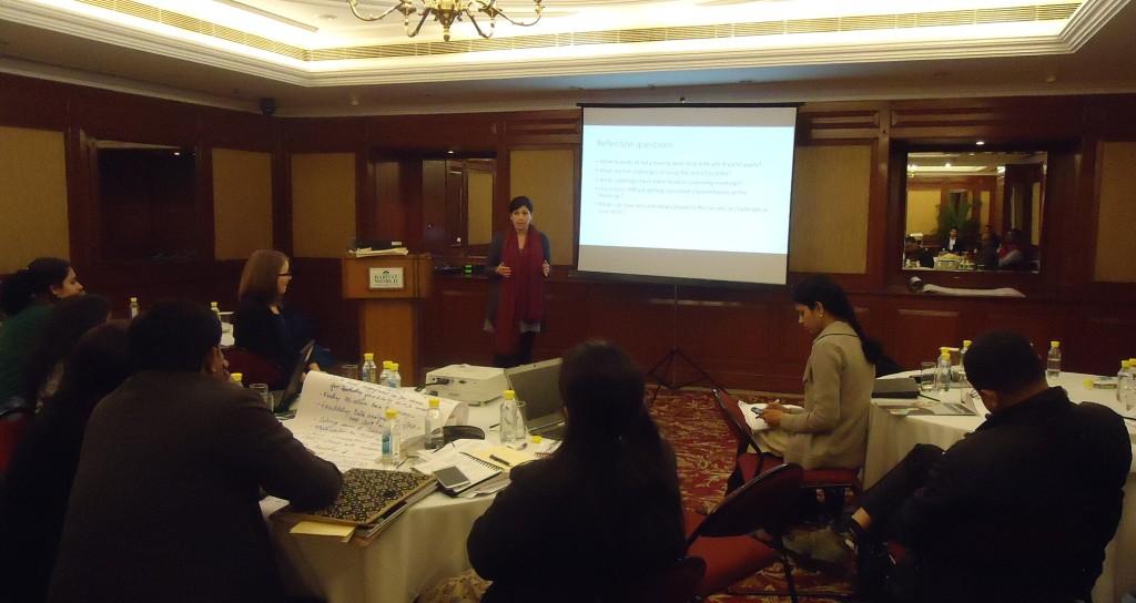 POSHAN partner meeting, Jan 2015