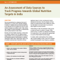 An Assessment of Data Sources to Track Progress on Nutrition in India