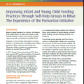 Improving Infant and Young Child Feeding Practices through Self-Help Groups in Bihar: The Experience of the Parivartan Initiative