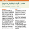 Improving Nutrition in Andhra Pradesh: Insights from the Current Status of Outcomes, Determinants and Interventions in 2016