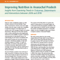 Improving Nutrition in Arunachal Pradesh: Insights from Examining Trends in Outcomes, Determinants and Interventions between 2006 and 2016
