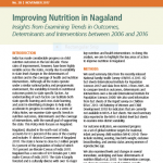 Improving Nutrition in Nagaland: Insights from Examining Trends in Outcomes, Determinants and Interventions between 2006 and 2016