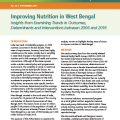 Improving Nutrition in West Bengal: Insights from Examining Trends in Outcomes, Determinants and Interventions between 2006 and 2016